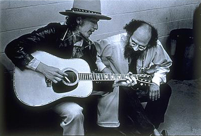 Allen_Ginsberg_and_Bob_Dylan_by_Elsa_Dorfman
