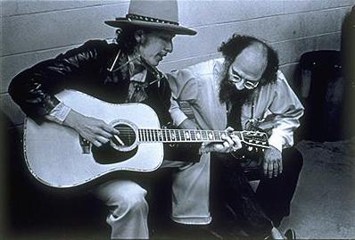 Allen_Ginsberg_and_Bob_Dylan_by_Elsa_Dorfman